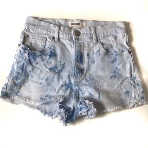 4 for $25 🌎 Garage Light Blue High Waisted Shorts